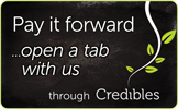 Open a tab with us