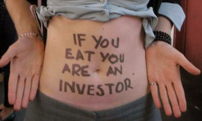 If you eat, you're an investor.